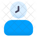 People Time Delay Management Icon