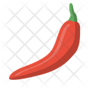 Chili Fire Hot Icon