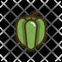 Pepper Vegatable Vegatables Icon