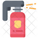 Pepper Spray Weapon Police Icon
