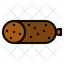 Pepperoni Meat Food Icon