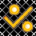 Discount Check Offer Check Percent Icon