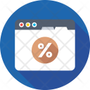 Percent Math Sign Icon