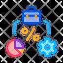 Percent Business Case Icon