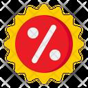 Percent Tag Icon