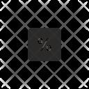 Percent Calc Operation Icon