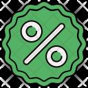 Percentage Discount Icon
