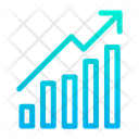 Growth Graph Report Analysis Icon
