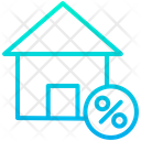 Discount On Home Discount On House Selling Home Icon