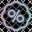 Percentage Discount Sale Icon