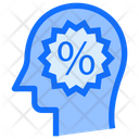 Percentage Discount Sign Icon