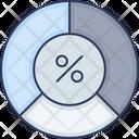 Percentage Load Process Icon