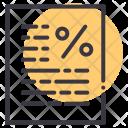 Percentage Grade Exam Icon
