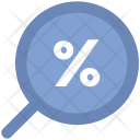 Percentage Low Discount Icon