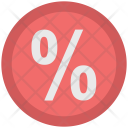 Percentage Offer Discount Icon