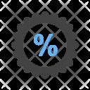 Percentage badge Icon