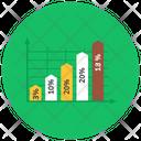 Percentage Chart Percentage Graph Statistics Icon