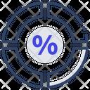 Percentage Chart Diagram Pie Graph Icon
