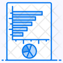 Percentage Graph Percentage Chart Data Analytics Icon
