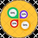 Percentage Graph Percentage Chart Statistics Icon