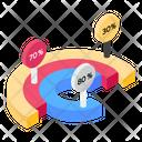 Percentage Graph Icon