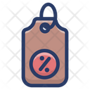 Percentage Tag Icon