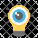 Perception Eyeball Light Icon