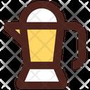 Percolator Coffee Pot Coffee Jar Icon