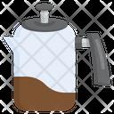 Percolator Pot Food Coffee Kettle Kitchenware Icon