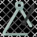 Percussion Triangle Music Icon