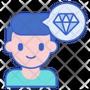 Perfectionism Daimond Addiction Icon