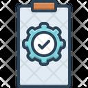 Execute Accomplish Perform Icon