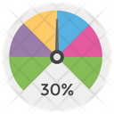 Performance Pie Chart Pie Graph Icon