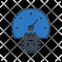 Performance Speed Chip Icon