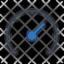 Performance Speed Meter Icon