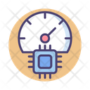 Performance Gauge Meter Icon