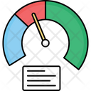 Diagram Gauge Graph Icon