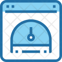 Testing Performance Measurement Icon