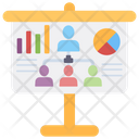 User Hierarchy Business Chart Performance Chart Icon