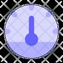 Performance Measurement Speedometer Dashboard Icon