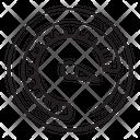 Performance Test Dashboard Speedometer Icon