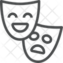 Masks Faces Shows Icon
