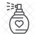 Love Perfume Valentine Icon