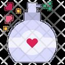 Perfume Bottle Heart Icon