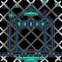 Pergola Gazebo Arbor Icon