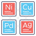 Periodic Table Chemical Elements Mendeleev Icon
