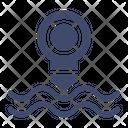 Periscope Sea Submarine Icon
