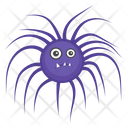 Microorganism Peritrichous Microorganism Scary Bacteria Icon