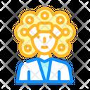 Perm Hairdryer Icon