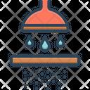 Permeate Percolate Seep Icon
